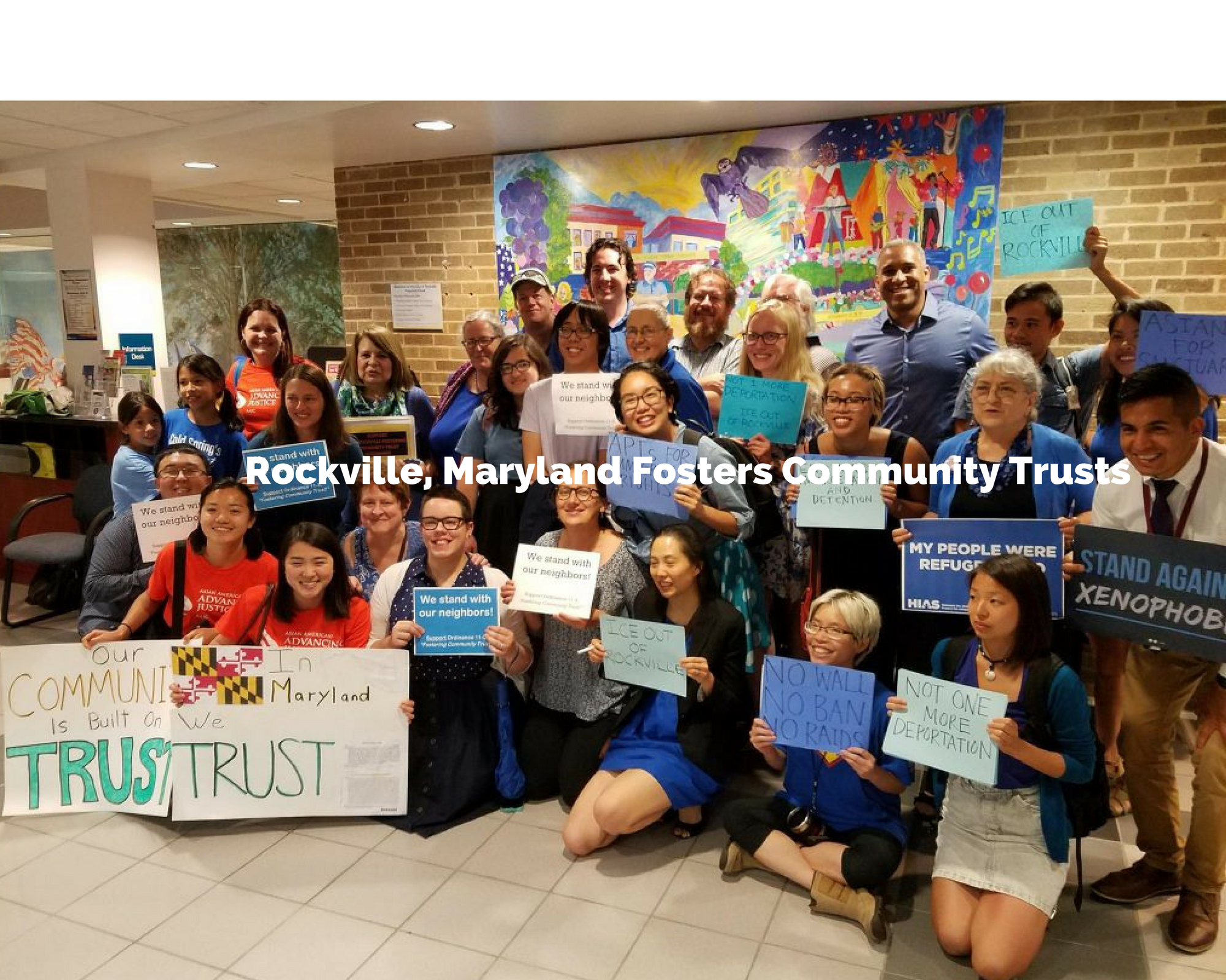 Rockville, Maryland Passes -Fostering Community Trust-