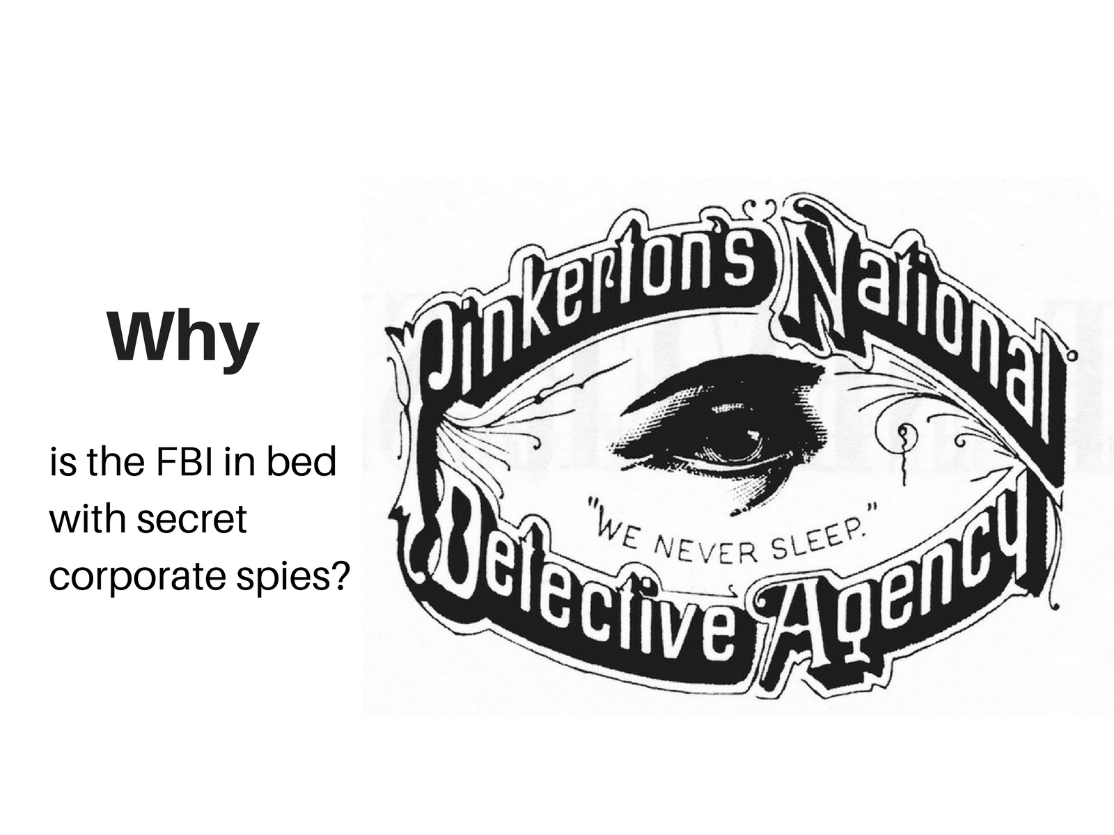 fbi pinkerton