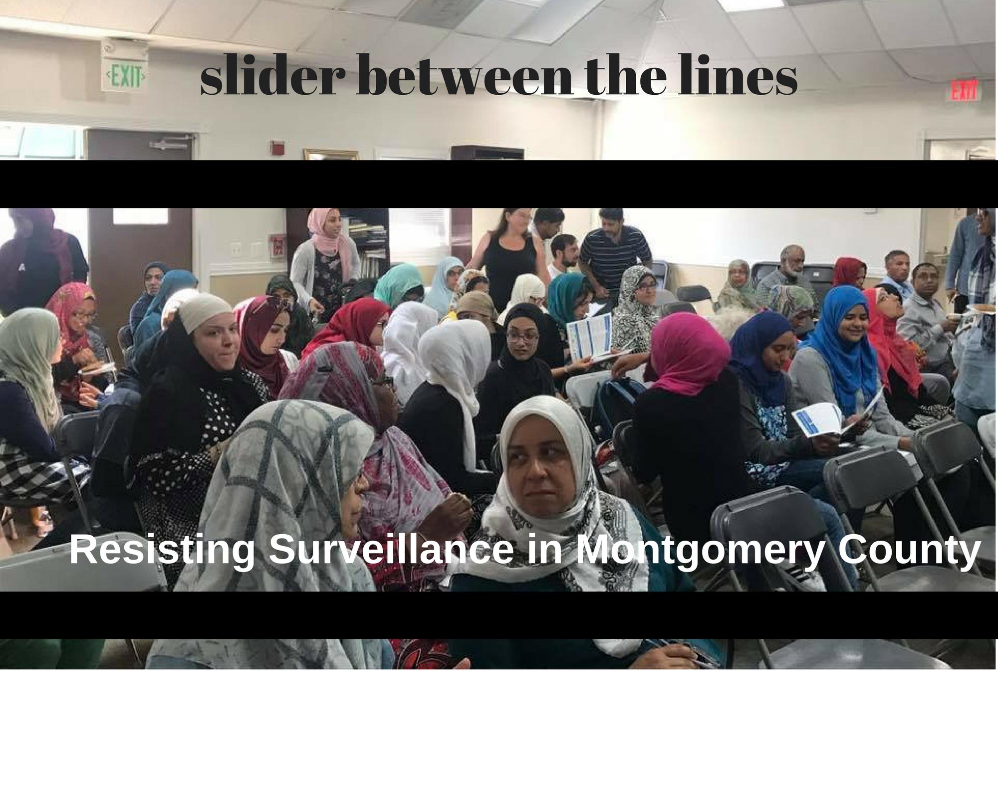 resisting surveillance