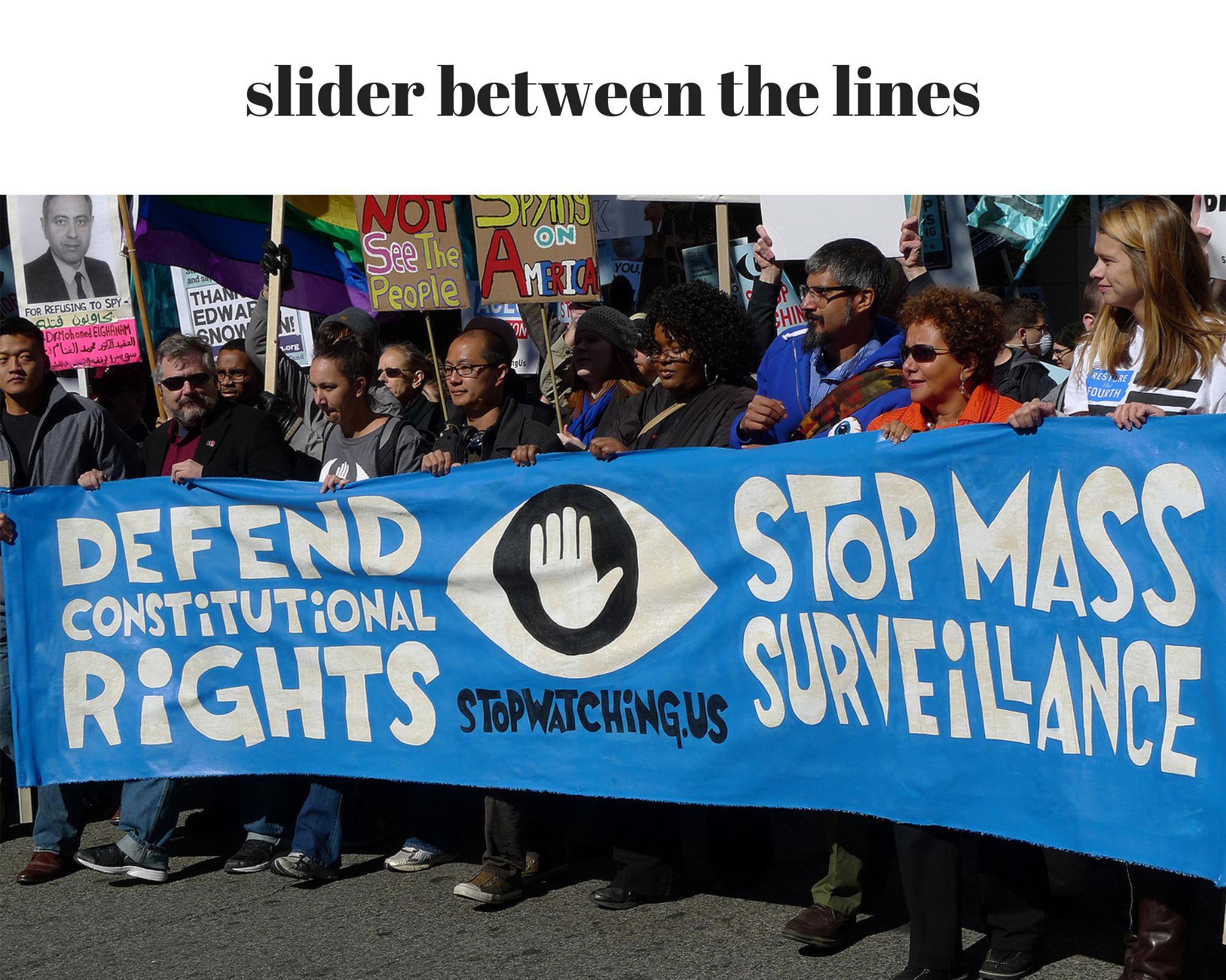 stop mass surveillance