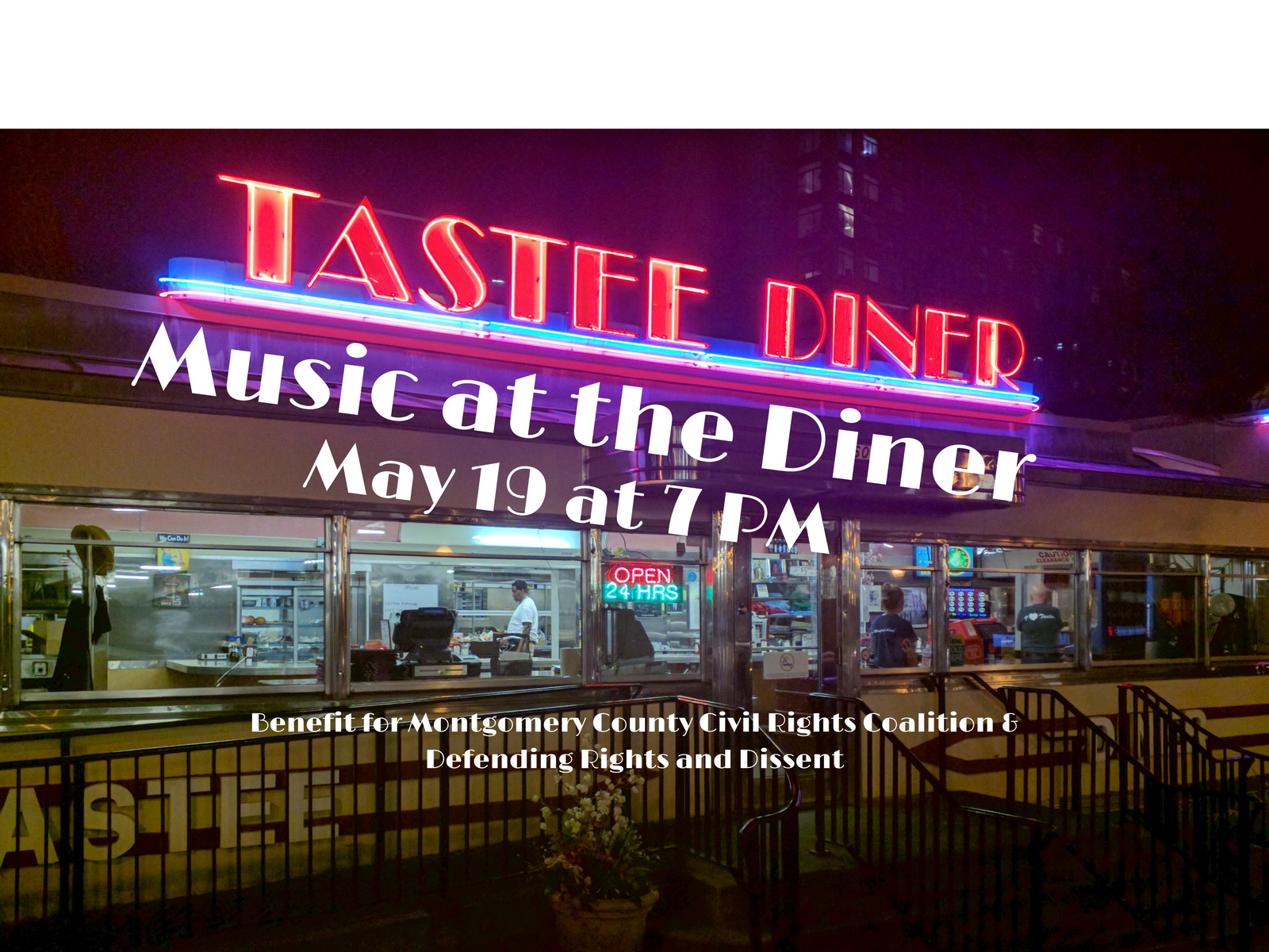 May 19 event in Silver Spring Maryland