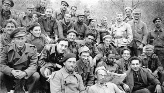 Abraham Lincoln Brigade Group Photo