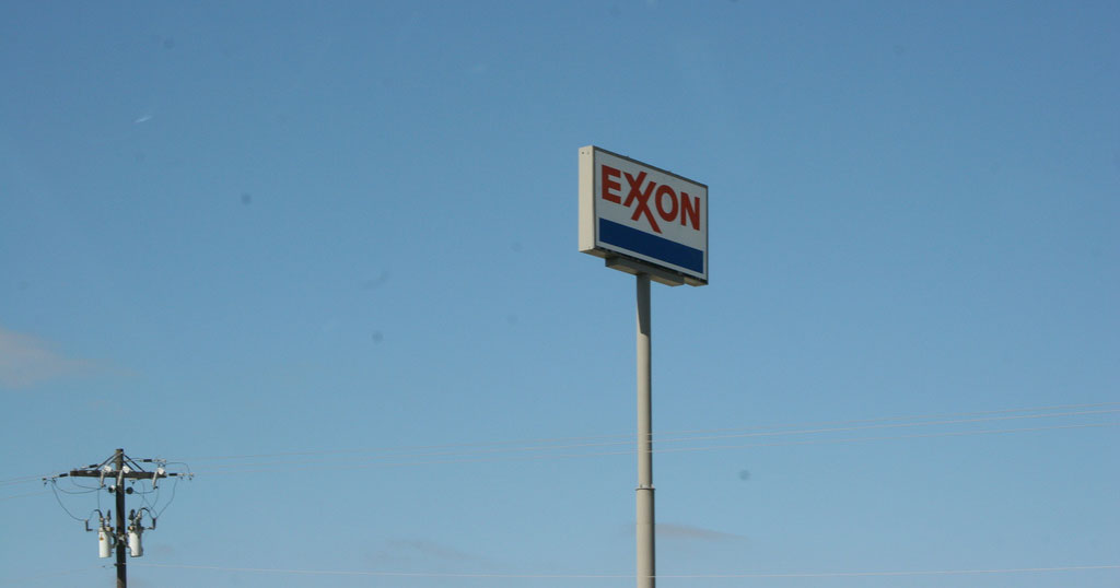 Exxon Sign