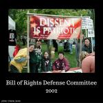BORDC activists at a protest