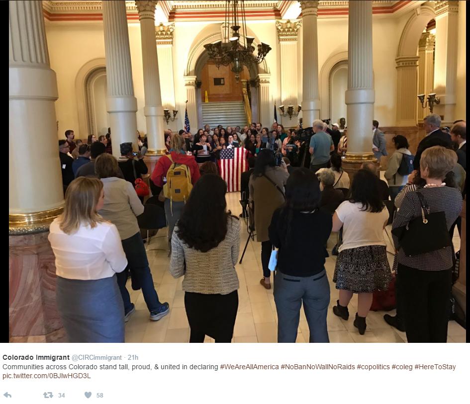 colorado immigrant rights press conference