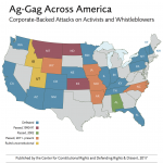 Defending Rights & Dissent, Center for Constitutional Rights Release First Comprehensive Report on Ag-Gag Laws