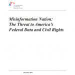 New Paper Sounds the Alarm on Trump Administration Attacks on Federal Data and Civil Rights